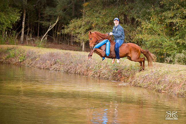 Boat bumpers great horse training supplies to desensitize to the leg
